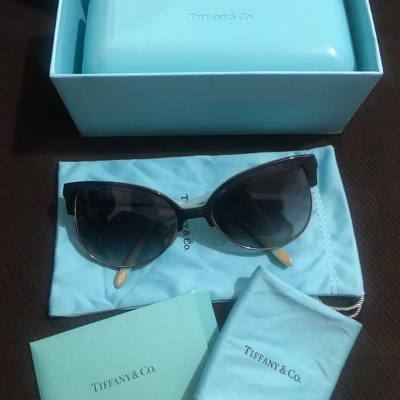 57a8892caeb4 Tiffany   Co Heart Lock Cat Eye sunglasses. M 5a79499d2ae12fc78ff4924f.  Other Accessories ...